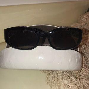Coach Sadie Black Sunglasses